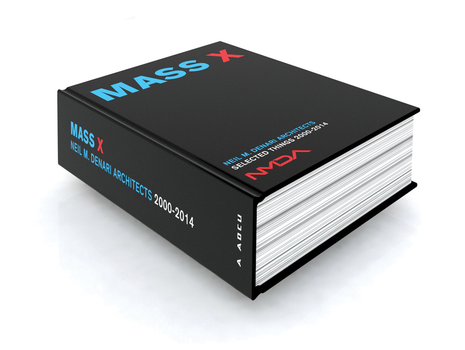 Image of MASS X, a thick book with a black cover