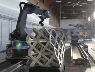 Image of robotic fabrication