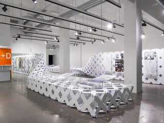 Image of exhibition at A+D Museum