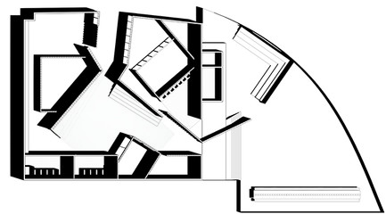 Black and white rendering