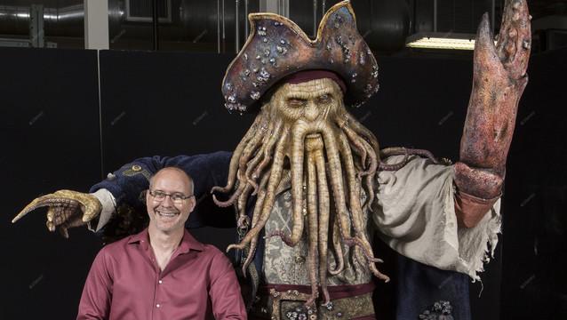 Luc Mayrand, Portfolio Creative Executive at Walt Disney Imagineering