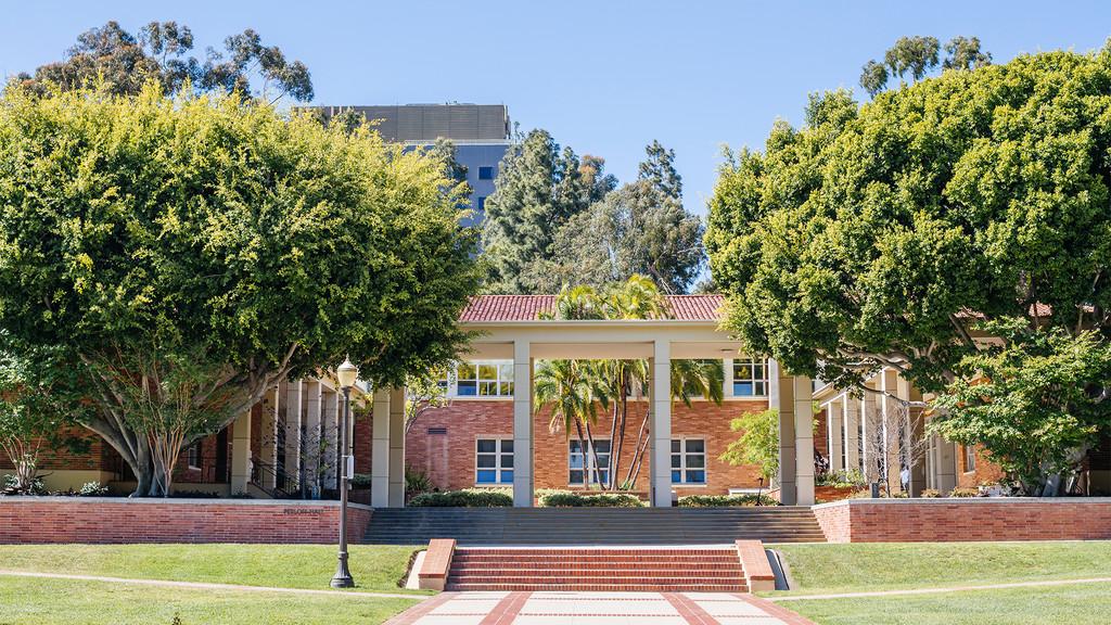 Perloff Hall on the UCLA campus