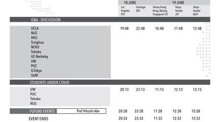 Image of schedule