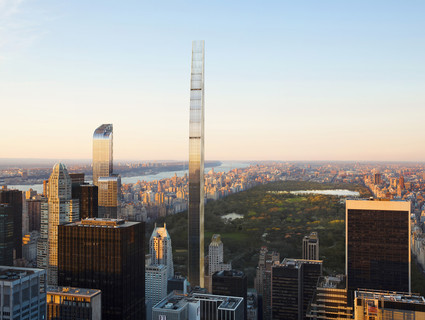 Image of the New York City skyline looking out over Central Park