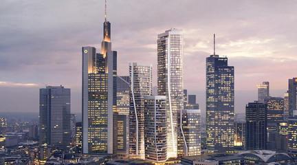 Image of Frankfurt skyline
