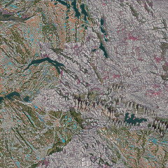 Photorealistic assets and environments of Greenland created using machine learning