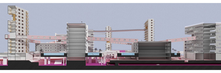 Section perspective drawing not drawn to scale.