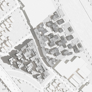 """Site plan drawing drawn at 1/32"""" = ' scale."""