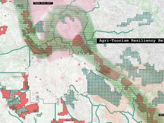 Map of agri-tourism belt