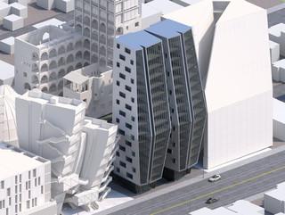Rendering of prototype vertical city