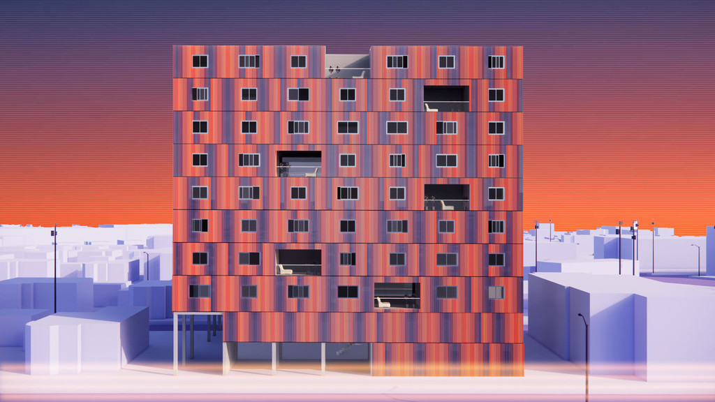 Facade rendering
