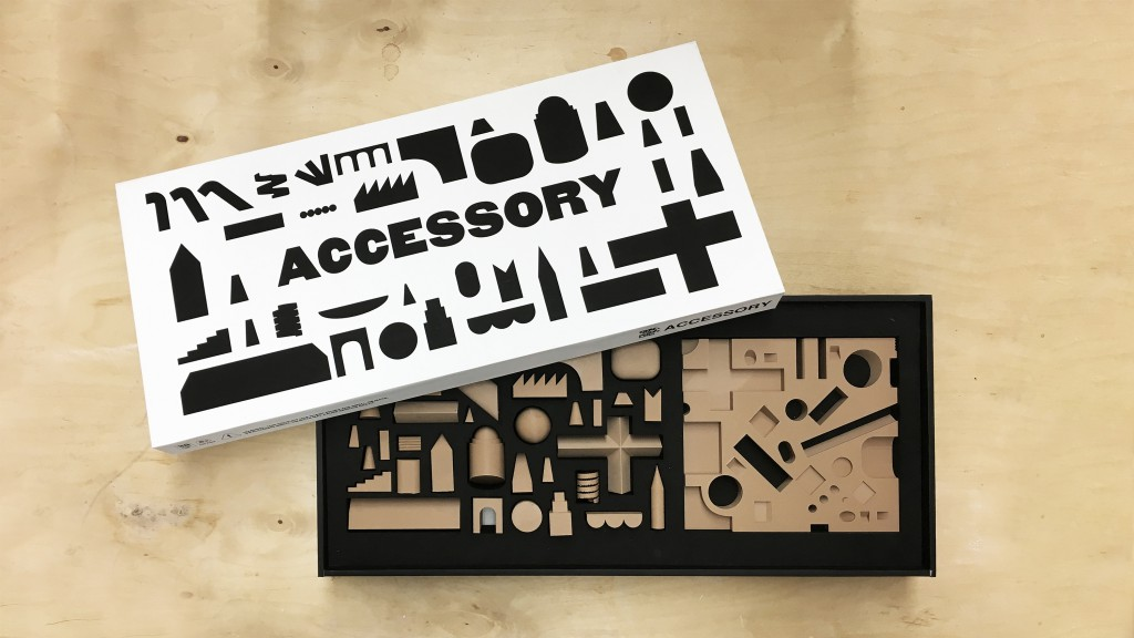 Photo of an accessory kit of parts
