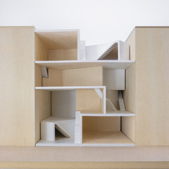 Photograph of physical model
